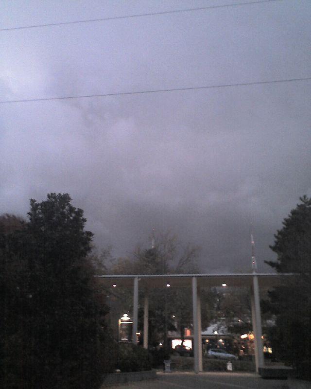 Ominous cloudbank